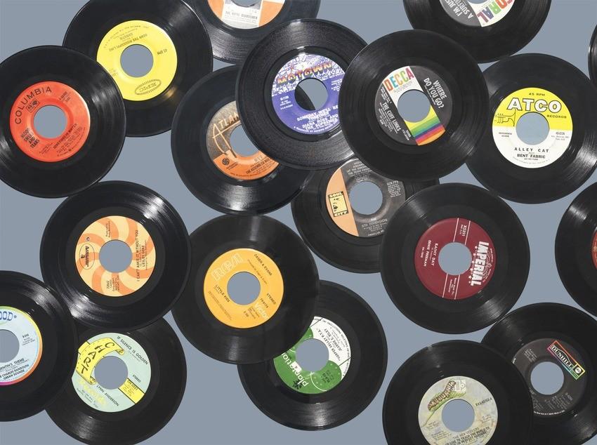 Discos de vinil (Foto: Reprodução/Jim Golden)