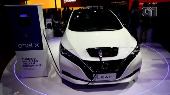 Salão de SP 2018: Nissan lança pré-venda do elétrico Leaf a R$ 178,4 mil