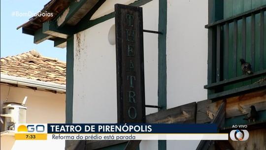 Reforma no Teatro Municipal de Pirenópolis está parada