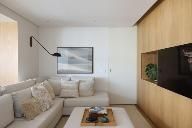 140 m² com muito aconchego para um jovem casal recém-chegado ao Brasil