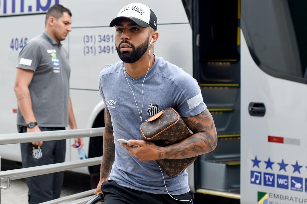 Gabigol pode voltar ao Santos, segundo jornal italiano — Foto: Douglas Magno/BP Filmes