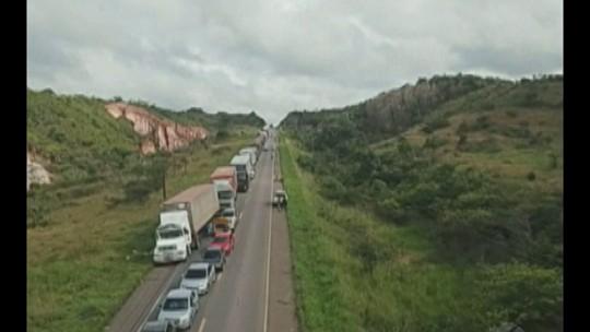 Interdição na BR-010 chega ao segundo dia em Ipixuna do Pará