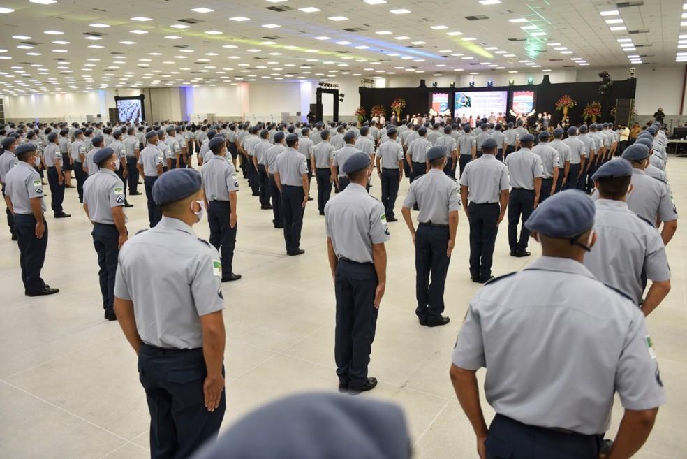 RN tem a menor participação de mulheres nas polícias do Brasil, aponta IBGE — Foto: Elisa Elsie/Governo do RN