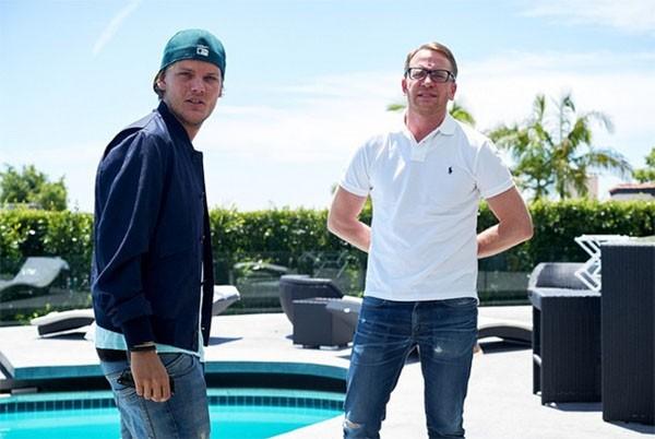 Avicii e o irmão David Bergling (Foto: Instagram)