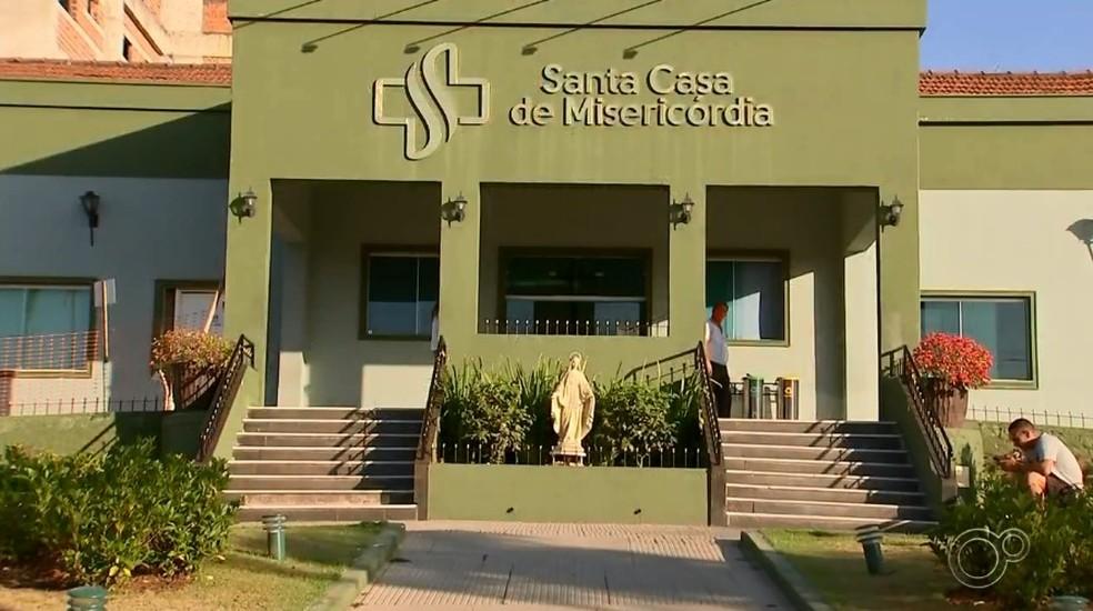 Santa Casa de Sorocaba (SP) — Foto: Reprodução/TV TEM
