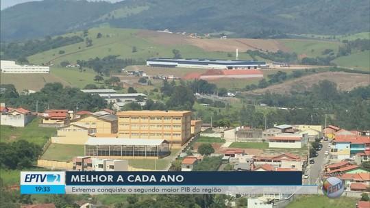Extrema ultrapassa Poços de Caldas e assume 2ª posição entre os maiores PIBs do Sul de Minas