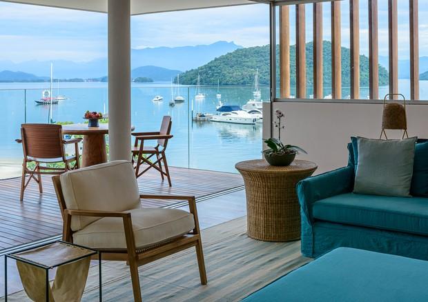 O endereço comporta 60 apartamentos com uma linda vista para o mar (Foto: Divulgação)