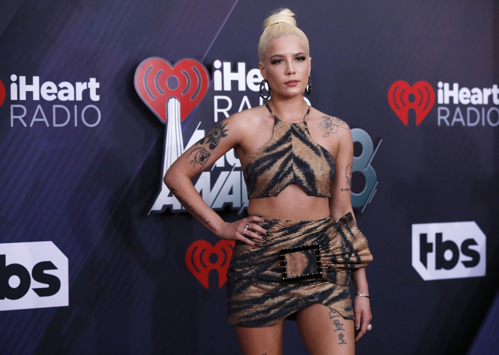 Halsey no iHeartRadio Music Awards 2018 (Foto: REUTERS/Mario Anzuoni)