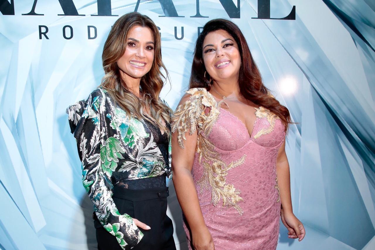 Flávia Alessandra e Fabiana Karla (Foto: Rafael Cusato/Ed. Globo)