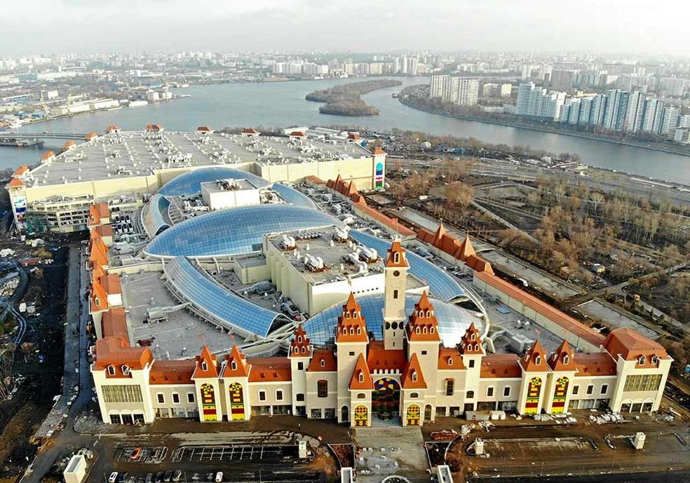 Governo de Moscou estima que o fluxo de turistas na cidade deve aumentar em 16% — Foto: Dream Island/ Divulgação