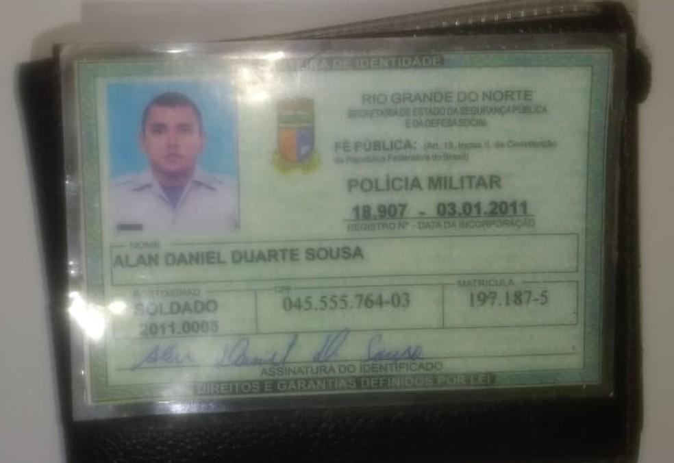 De acordo com a PM, policial morto em Mossoró estava afastado por motivos de saúde. (Foto: PM/Divulgação)