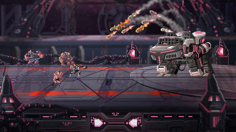Star Renegades é um RPG que se destaca pelo seu sistema de batalha e belo visual em Pixel Art — Foto: Reprodução/Steam