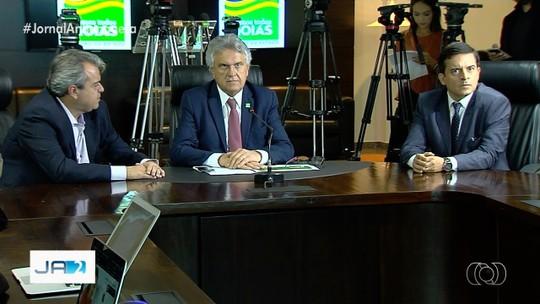 Caiado diz que vai economizar mais de R$ 400 milhões até o fim do mandato
