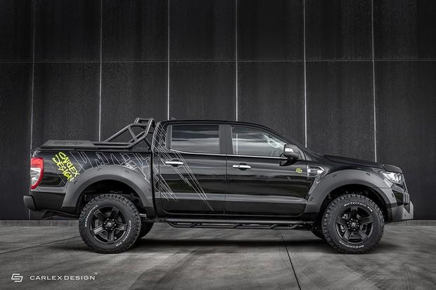 Ford Ranger da Carlex Design (Foto: Divulgação)