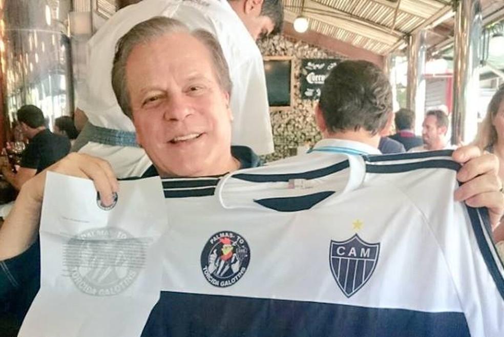 Chico Pinheiro, jornalista da TV Globo, é atleticano fanático — Foto: Bruno Castro/ Arquivo pessoal