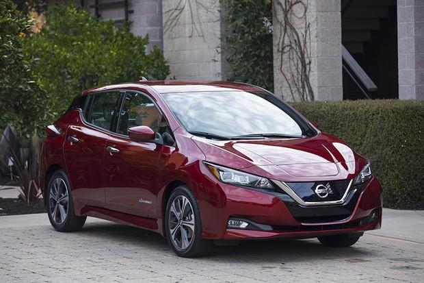 Nissan Leaf 2018 (Foto: divulgação)