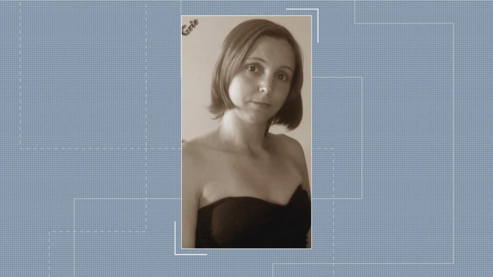 Cristiane Soldino foi morta a tiros em Betim — Foto: Reprodução/TV Globo