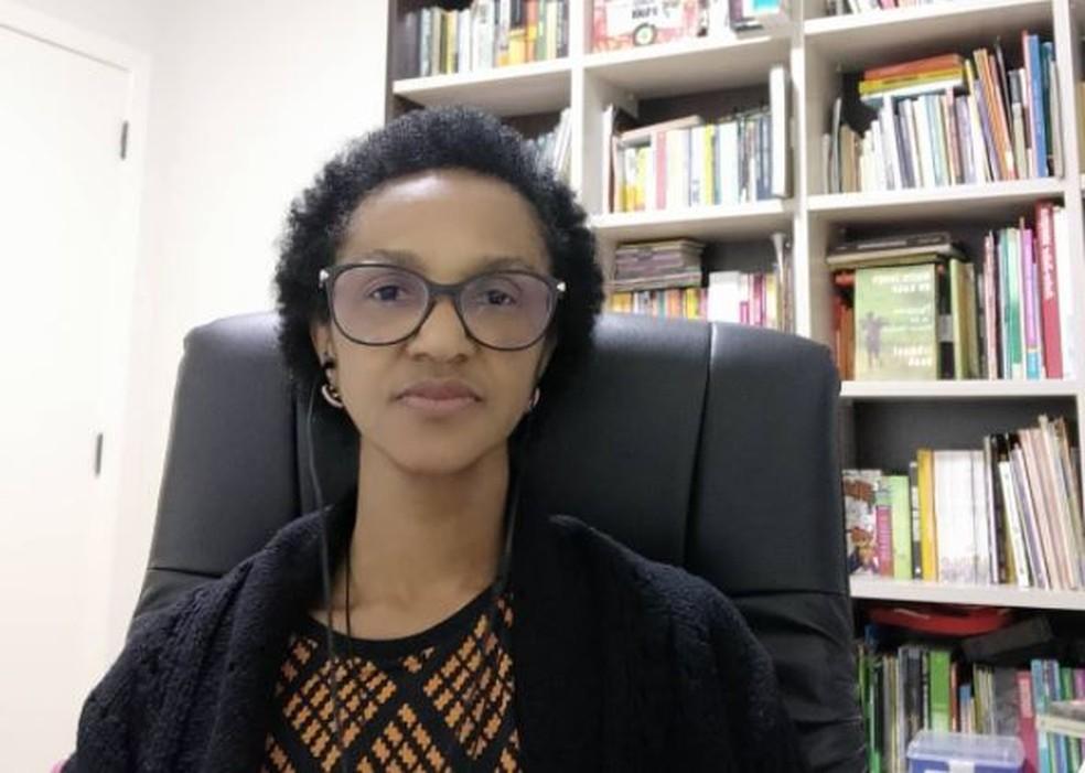 Ana Lúcia Martins é a primeira vereadora negra eleita em Joinville — Foto: Redes sociais/Reprodução