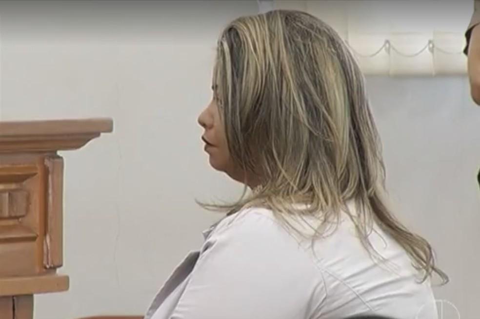 Ex-agente foi presa sete meses após o crime em Montes Claros (Foto: Reprodução/Inter TV)