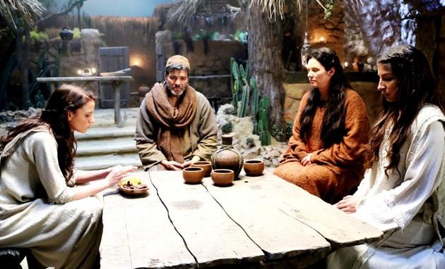 Cena de 'Jesus' (Foto:  Munir Chatack / Record TV)
