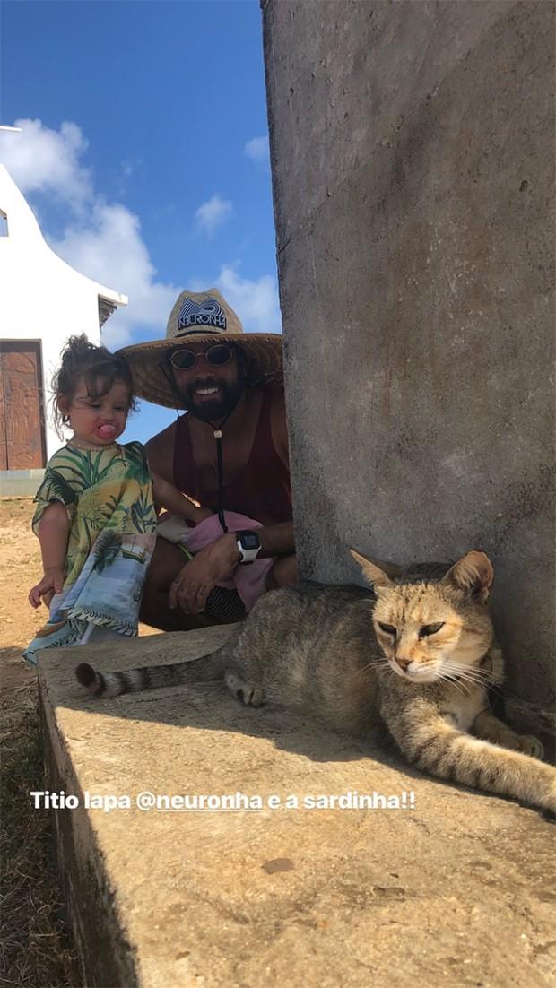 Yanna Lavigne curte Fernando de Noronha com Madalena e família (Foto: Reprodução/Instagram)