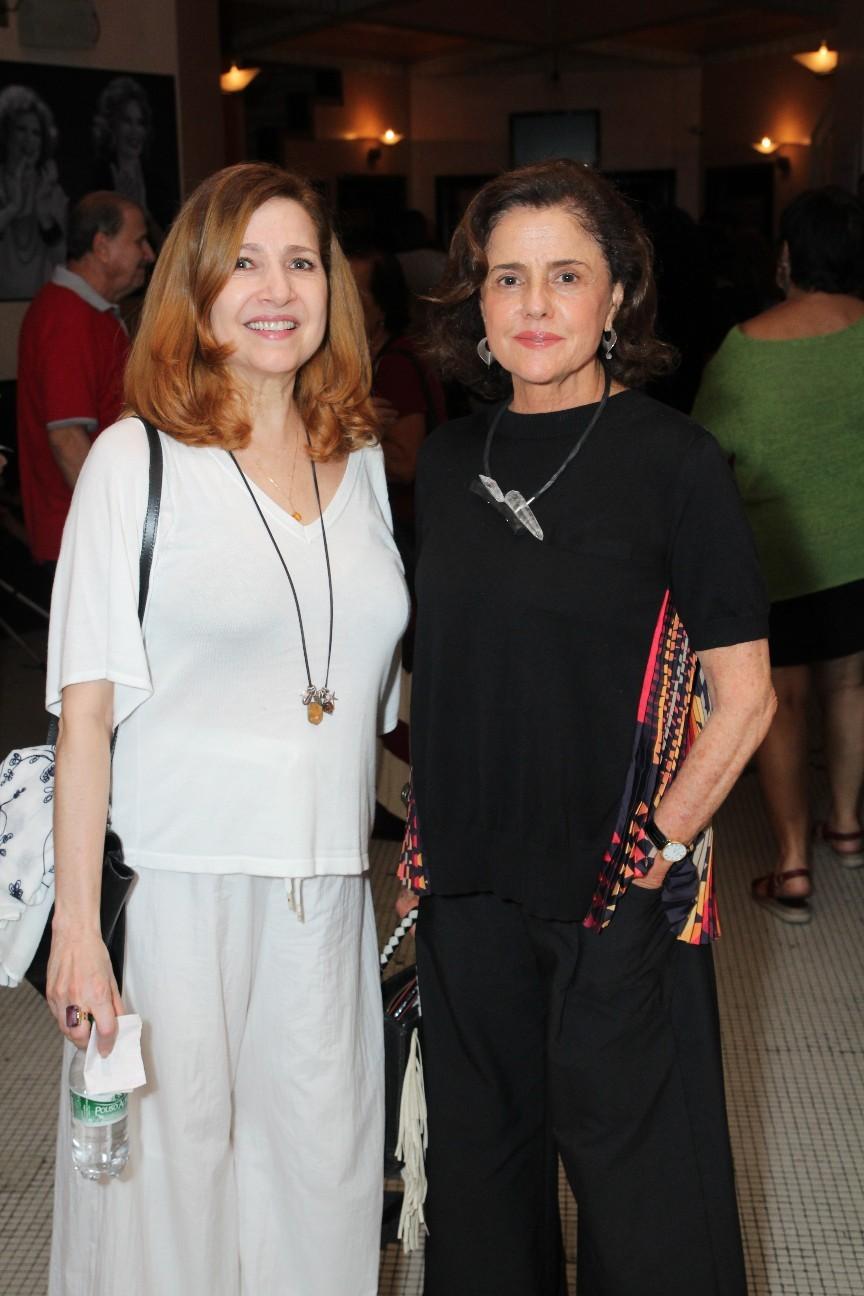Malu Valle e Marieta Severo (Foto: AgNews)
