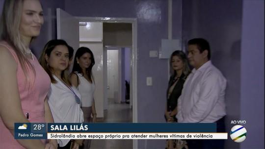 Com 568 casos em 2018, Sidrolândia ganha sala para atender mulheres vítimas de violência