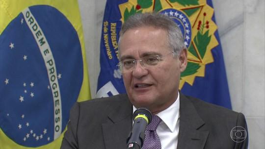 Senado apresenta recurso contra decisão de afastar Renan Calheiros