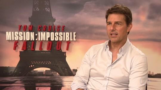 Tom Cruise conta por que teve que saltar de um avião mais de 100 vezes
