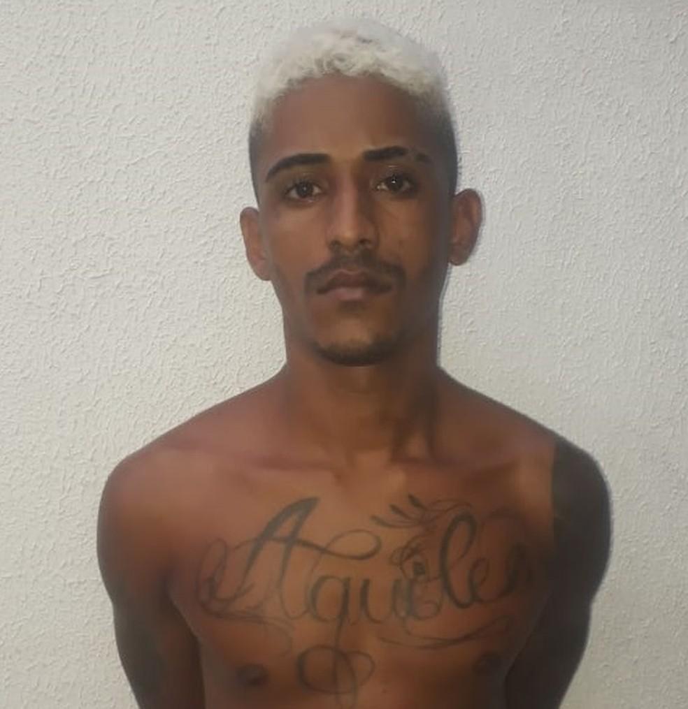 João Victor Matos Cutrim foi encaminhado para a Centro de Triagem de Pedrinhas em São Luís — Foto: Divulgação/Polícia