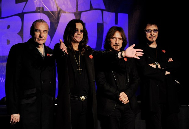 Black Sabbath traz Ozzy de volta aos vocais (Foto: Getty Images)