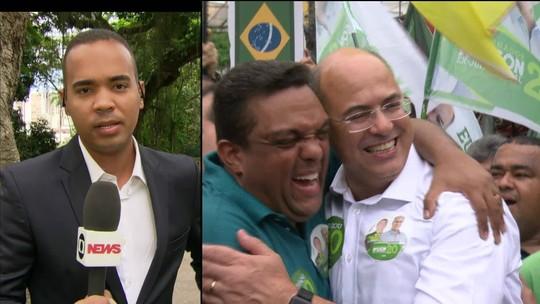 Witzel se reúne com Pezão pela primeira vez após ser eleito governador do RJ