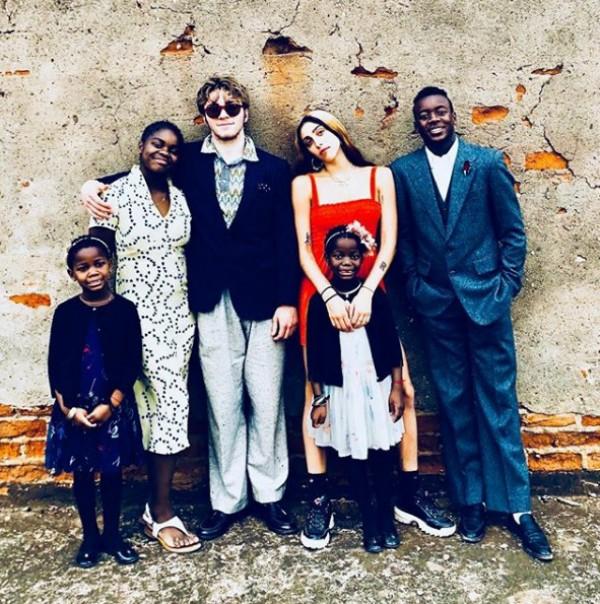 Foto dos filhos publicada por Madonna (Foto: Reprodução Instagram)