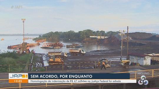 Homologação de acordo de R$ 47 milhões entre Anglo e municípios do Amapá é adiada