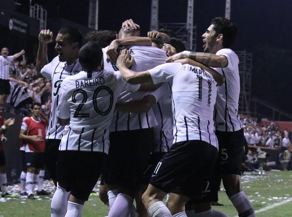 Libertad fecha o grupo do Grêmio na Libertadores — Foto: Twitter/Libertad