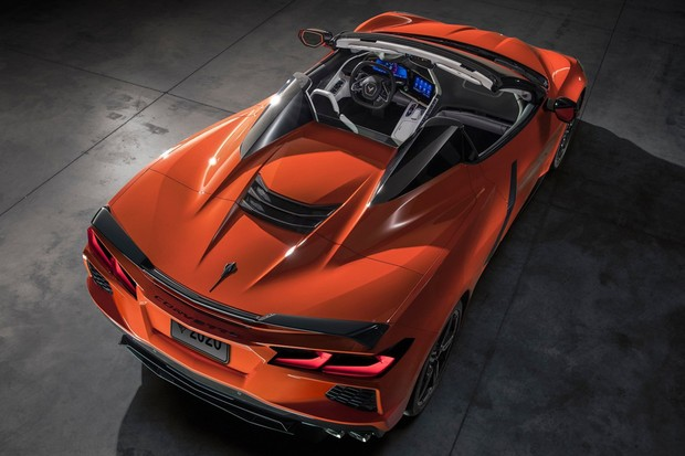 O Corvette conversível é uma opção ao targa original (Foto: Divulgação)