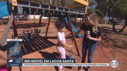 MG Móvel acompanha, pela quarta vez, reivindicação dos moradores de Lagoa Santa