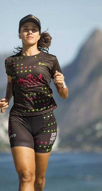 Paula Vianna começou no triatlo há dois anos