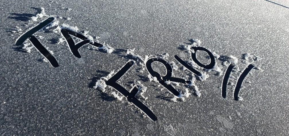 São Joaquim registrou mínima de -6°C — Foto: Mycchel Legnaghi
