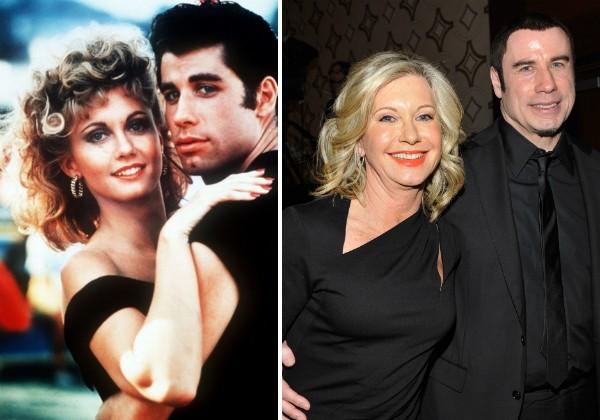John Travolta e Olivia Newton-John (Foto: Reprodução/Getty Images)