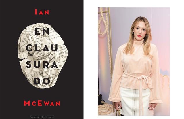 """Camila Garcia, Redatora Chefe Enclausurado, do Ian Mc Ewan. """"O romance do escritor inglês é narrado por um feto, que tem acesso privilegiado às conversas e sensações mais íntimas e comprometedoras da mãe."""" (Foto: Divulgação/Lu Prezia)"""