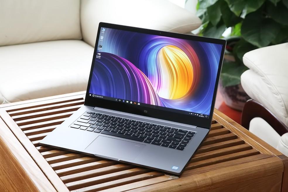 Mi Pro é um notebook da fabricante chinesa com design semelhante ao da Apple — Foto: Divulgação/Xiaomi