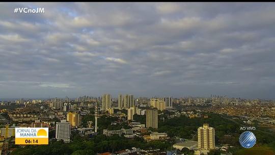 Previsão do tempo: Salvador e outras cidades baianas têm nebulosidade nesta quinta-feira