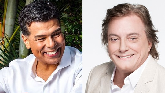 Fábio Jr. e Maurício Mattar anunciam show juntos