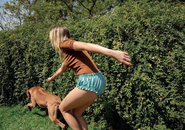 Ana Hickmann e seu cachorro (Foto: Karine Basílio/Arquivo Glamour)