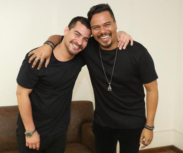 Thiago Martins e Bruno Cardoso (Foto: Daniel Janssens/Ed. Globo)