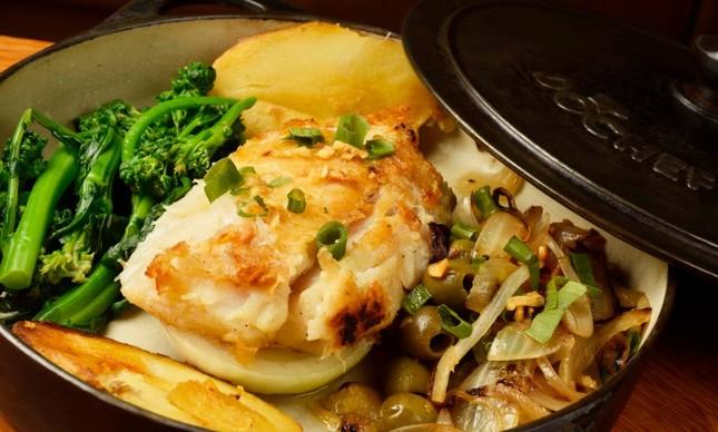 Esplanada Grill: bacalhau à lagareira
