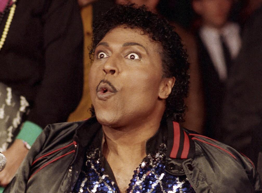 Little Richard, em foto de novembro de 1986 — Foto: Mark Avery/AP/Arquivo