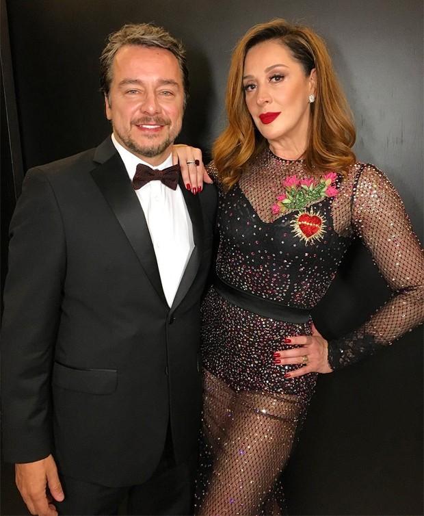 Claudia Raia e Carlos Vieira (Foto: Reprodução/Instagram)
