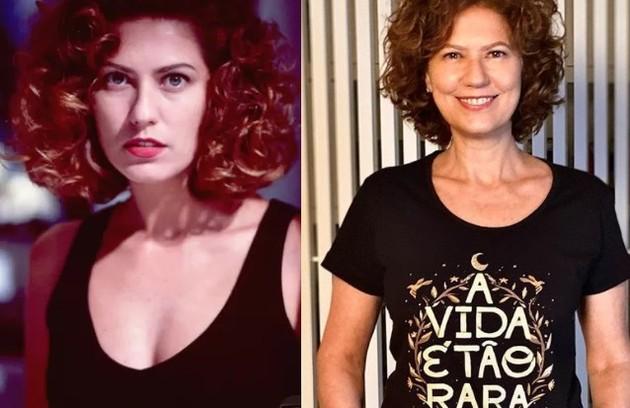 Patrícia Pilar viveu Eliana, um oportunista. Seu último papel foi na supersérie 'Ondes nascem os fortes' (Foto: Reprodução)